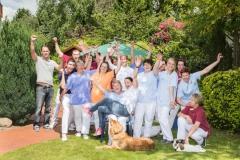 Das Team der Seniorenfamilie Edler